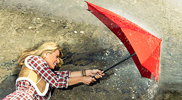 Senz stormvaste paraplu's